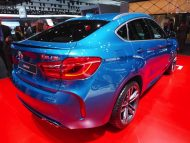 BMW X6 M F86 Long Beach Blue 41 190x143 575PS im Long Beach Blue BMW X6 M F86 der M GmbH