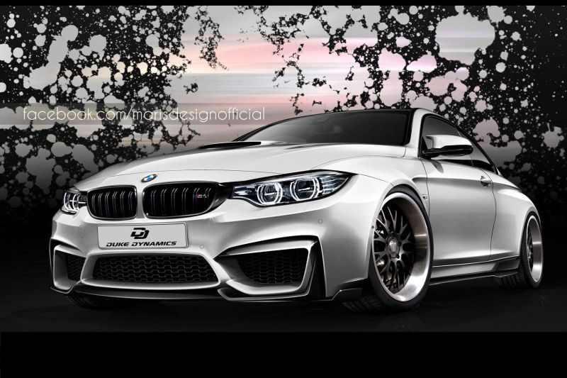 BMW m4 duke dynamics 1 Fetter BMW M4 von Duke Dynamics