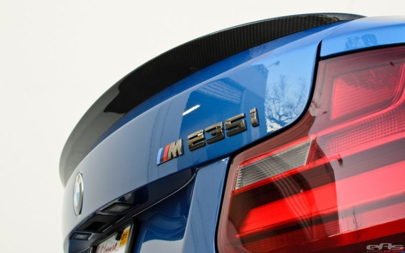 Estoril Blue BMW M235i EAS 2 BMW M235i dezent getunt von EAS European Auto Source