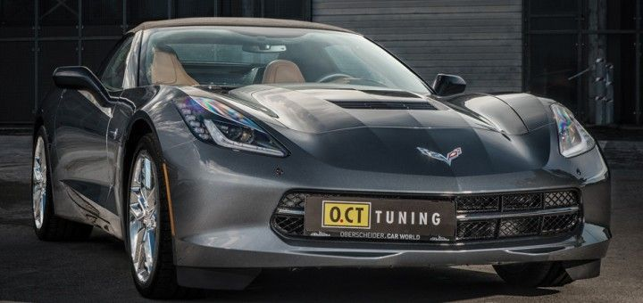 OCT Corvette C7 with Edelbrock 1 O.CT. Tuning pimpt die aktuelle Corvette C7 Stingray