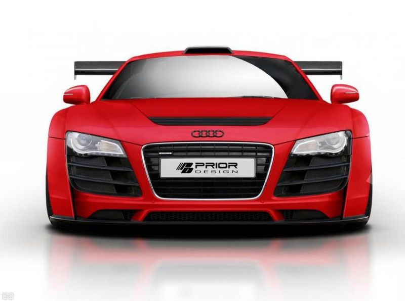 Prior Wide Body Kit audi r8 1 Extremes Tuning am Audi R8 von Prior Design. AUDI R8 PD GT850