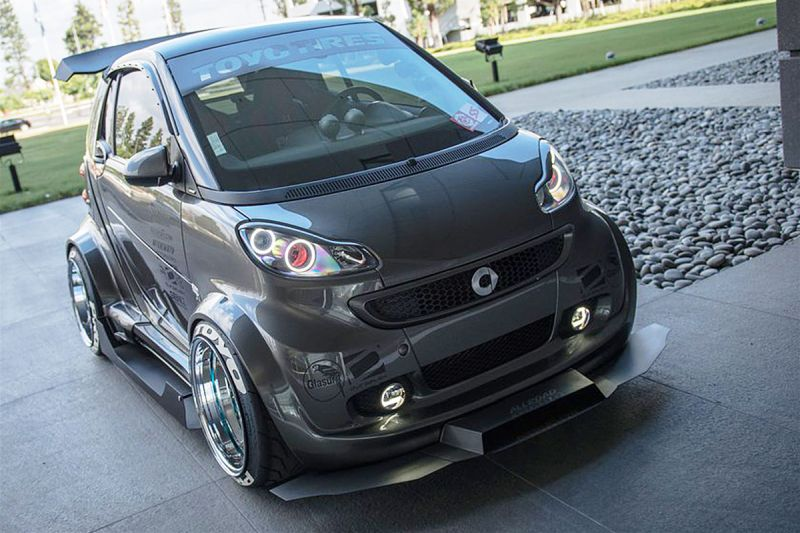 what a roller skate the smart fortwo from the tuner. Black Bedroom Furniture Sets. Home Design Ideas