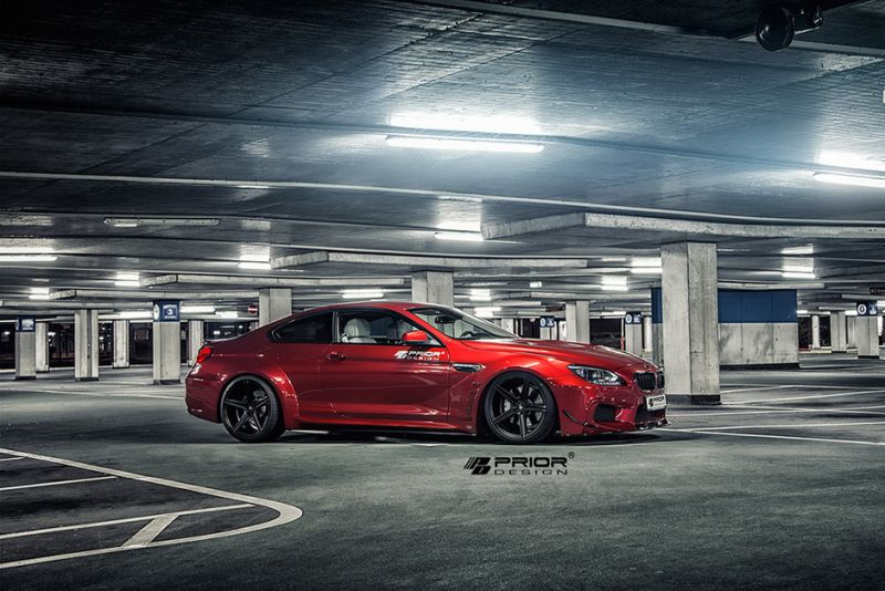 bmw 6er prior design 1 BMW 6er F12 & F13 mit Bodykit von Prior Design