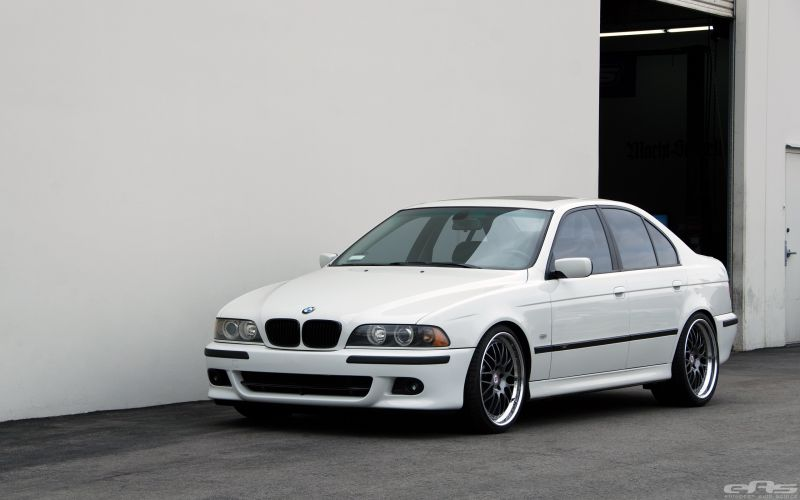 Understated And Chic Bmw E39 530i In White And Eas