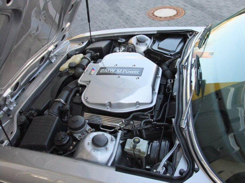 bmw e9 cs m5 1 400PS und ein M5 5,0 V8 Motor im BMW E9 CS!