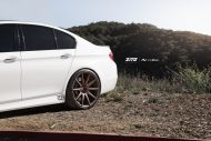 bmw f10 m5 on zito wheels 10 190x127 21 Zoll Zito Wheels auf dem Alpine White BMW M5 F10