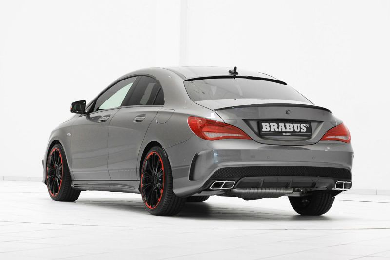 brabus zeigt tuning am neuen mercedes cla 45 amg. Black Bedroom Furniture Sets. Home Design Ideas