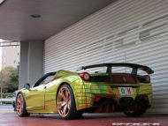 ferrari 458 golden shark by office k 14 190x143 Goldener Hai von Office K. Der Ferrari 458 Italia Shark