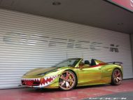 ferrari 458 golden shark by office k 17 190x143 Goldener Hai von Office K. Der Ferrari 458 Italia Shark