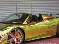 ferrari 458 golden shark by office k 2 190x143 Goldener Hai von Office K. Der Ferrari 458 Italia Shark