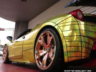 ferrari 458 golden shark by office k 5 190x143 Goldener Hai von Office K. Der Ferrari 458 Italia Shark