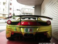 ferrari 458 golden shark by office k 9 190x143 Goldener Hai von Office K. Der Ferrari 458 Italia Shark