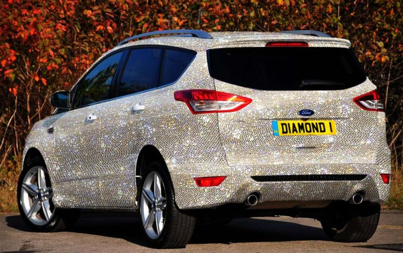 ford kuga diamonds for 1 Ford Kuga mit über 1.000.000 Diamanten und Edelsteinen