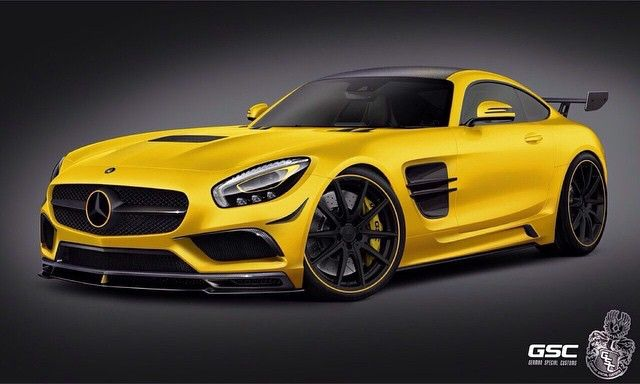 german special customs mercedes amg gt 1 Mercedes AMG GT von GSC German Special Customs