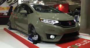 honda fit widebody kit coplus 11 310x165 Coplus tunt den Honda Fit (Jazz) mit Widebody Kit und LED Scheinwerfern