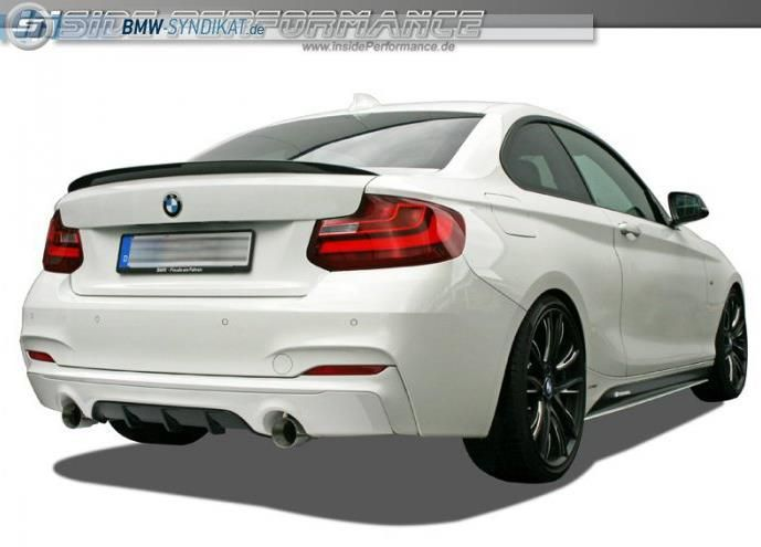 insideperformance bmw 2er 1 M Power Look für den BMW 235i durch insidePerformance