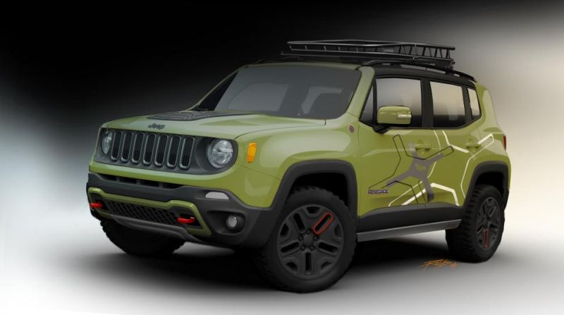 jeep renegade concept 2 Jeep Renegade wird extravaganter durch Mopar Tuning
