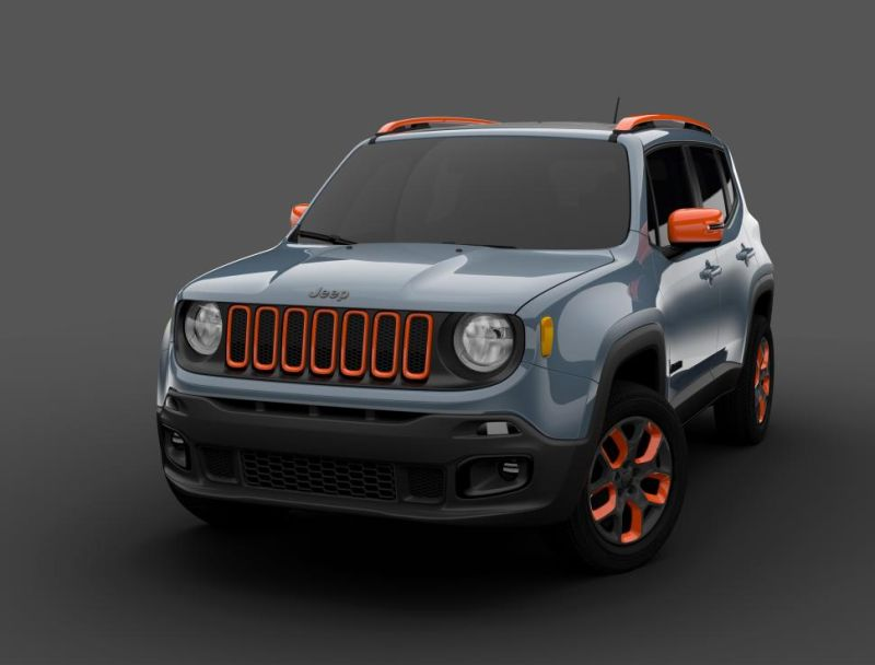 Jeep Renegade Wird Extravaganter Durch Mopar Tuning