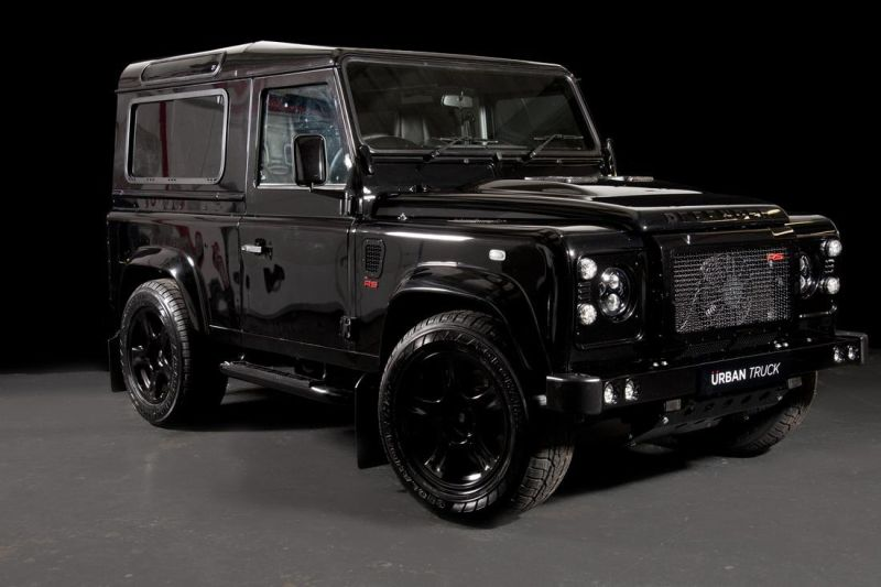 land rover defender ultimate rs by urban truck 1 Urban Truck tunt den Land Rover Defender auf 500PS