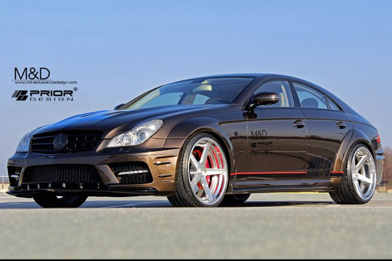 mercedes cls prior design 1 Fettes Widebody Kit für den Mercedes CLS von Prior Design