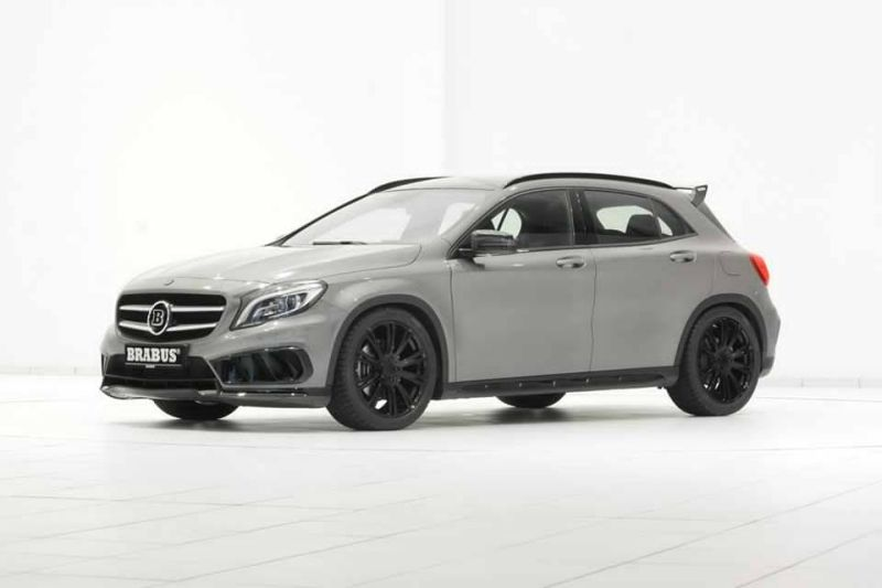 mercedes gla amg von brabus mit neuen schwarzen felgen magazin. Black Bedroom Furniture Sets. Home Design Ideas