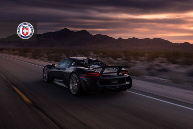 porsche 918 spyder mit weissach tuning und hre wheels. Black Bedroom Furniture Sets. Home Design Ideas