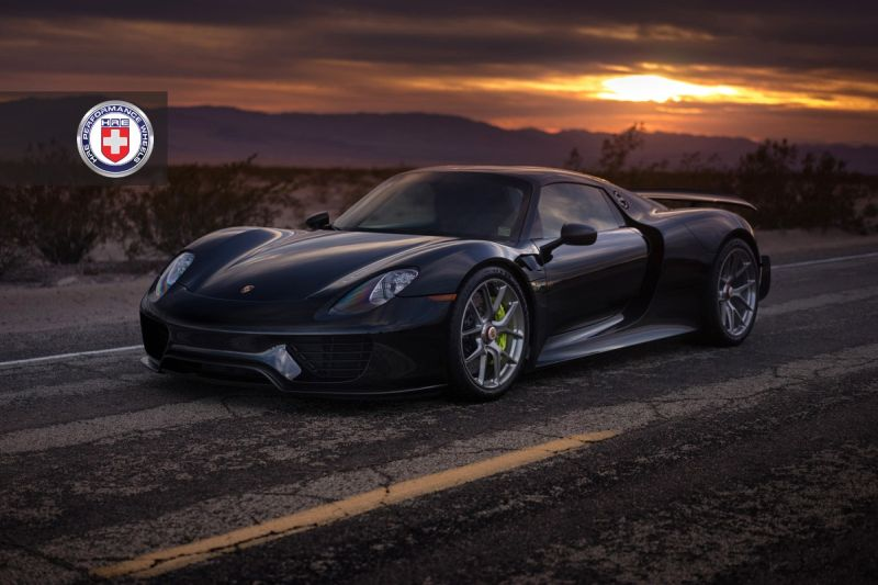 porsche 918 spyder mit weissach tuning und hre wheels magazin. Black Bedroom Furniture Sets. Home Design Ideas