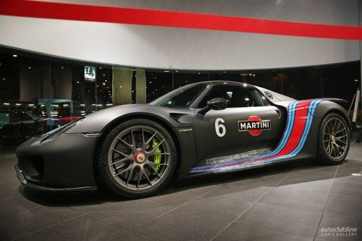 martini style am porsche 918 spyder in taiwan der tuning. Black Bedroom Furniture Sets. Home Design Ideas