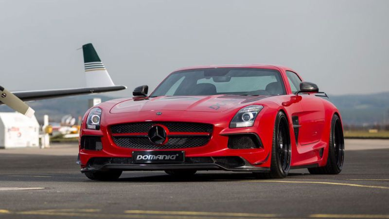 sls amg black series domanig 1 Mehr Optik und mehr Power für den Mercedes SLS AMG Black Series durch Domanig