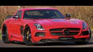 sls amg black series domanig 2 190x107 Mehr Optik und mehr Power für den Mercedes SLS AMG Black Series durch Domanig