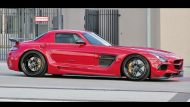 sls amg black series domanig 4 190x107 Mehr Optik und mehr Power für den Mercedes SLS AMG Black Series durch Domanig