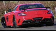 sls amg black series domanig 6 190x107 Mehr Optik und mehr Power für den Mercedes SLS AMG Black Series durch Domanig