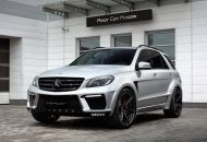 topcar ml63 amg silver arrow 1 190x130 Mercedes Benz ML63 AMG vom Tuner TOPCAR mit Widebody Kit