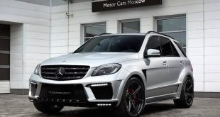topcar ml63 amg silver arrow 1 310x165 Mercedes Benz ML63 AMG vom Tuner TOPCAR mit Widebody Kit