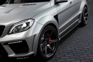 topcar ml63 amg silver arrow 10 190x127 Mercedes Benz ML63 AMG vom Tuner TOPCAR mit Widebody Kit