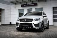 topcar ml63 amg silver arrow 3 190x127 Mercedes Benz ML63 AMG vom Tuner TOPCAR mit Widebody Kit