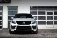 topcar ml63 amg silver arrow 4 190x127 Mercedes Benz ML63 AMG vom Tuner TOPCAR mit Widebody Kit