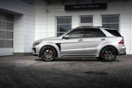topcar ml63 amg silver arrow 5 190x127 Mercedes Benz ML63 AMG vom Tuner TOPCAR mit Widebody Kit