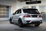 topcar ml63 amg silver arrow 6 190x127 Mercedes Benz ML63 AMG vom Tuner TOPCAR mit Widebody Kit