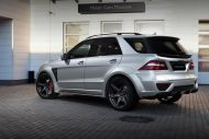 topcar ml63 amg silver arrow 7 190x127 Mercedes Benz ML63 AMG vom Tuner TOPCAR mit Widebody Kit