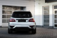 topcar ml63 amg silver arrow 8 190x127 Mercedes Benz ML63 AMG vom Tuner TOPCAR mit Widebody Kit