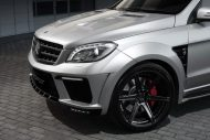 topcar ml63 amg silver arrow 9 190x127 Mercedes Benz ML63 AMG vom Tuner TOPCAR mit Widebody Kit
