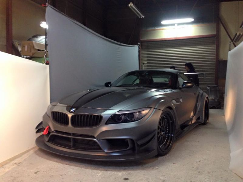 Varis Tuning Zeigt Extremen Bmw Z4 Mit Widebody Kit