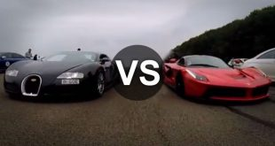 video bugatti veyron verblasen v 310x165 Video: Bugatti Veyron verblasen vom LaFerrari