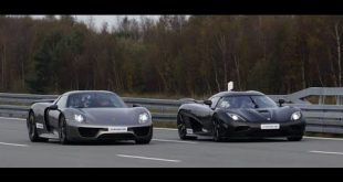 video duell koenigsegg agera r v 310x165 Video: Duell! Koenigsegg Agera R vs Porsche 918 Spyder Sprint 50 320 km/h