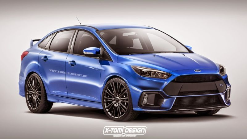 2016 ford focus rs sedan 1 Ford Focus RS 2016 Limousine by X Tomi Design
