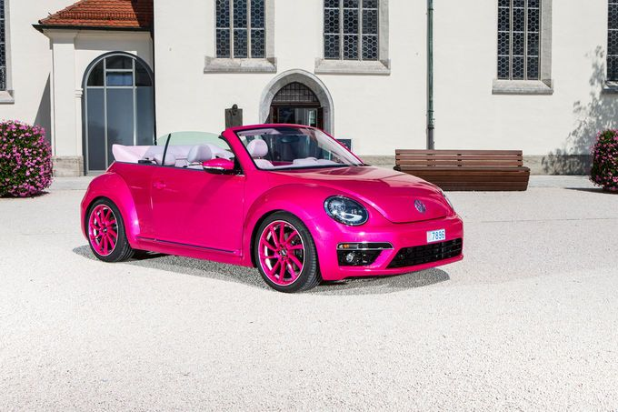 Abt Sportsline Tuning VW Beetle Cabrio 1 ABT Sportsline mit pinker Power am VW Beetle Cabrio
