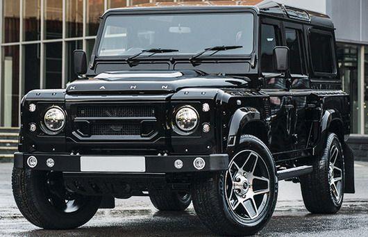 Chelsea Wide Track land rover 1 Kahn Design tunt den Land Rover Defender 2.2 TDCI