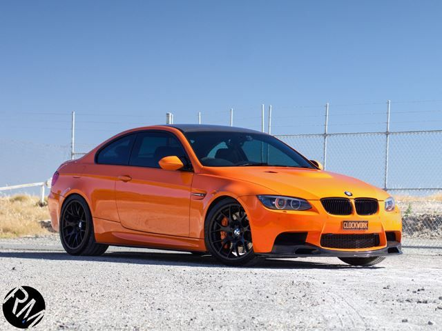 Clockwork Orange bmw m3 1 Clockwork Orange Tuning am BMW E92 M3 Individual