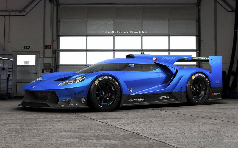 ford gt le mans prototyp 2016 vision magazin. Black Bedroom Furniture Sets. Home Design Ideas
